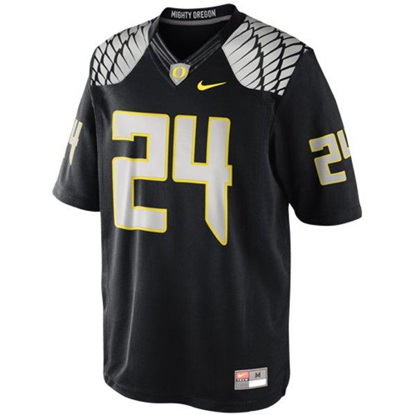 best service 47020 e0e4b Nike Oregon Ducks #24 Limited Football Jersey - Black ...