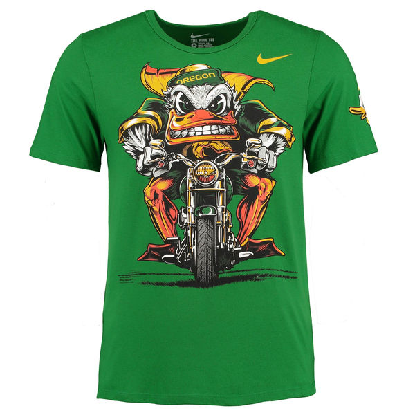Oregon Ducks Nike Authoritative Tri-Blend T-Shirt - Green